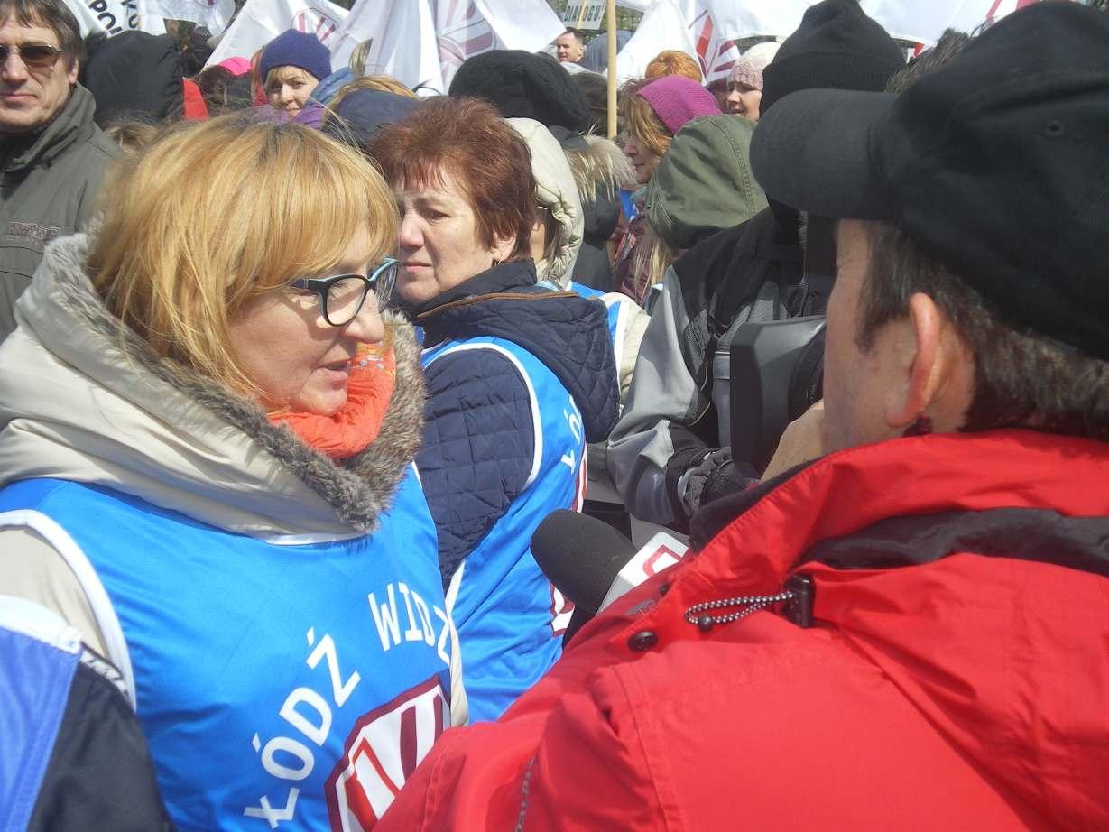 Manifestacja 18 04 fotorelacja